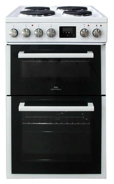 Save £70 at Argos on New World NWLS50DEW Double Oven Electric Cooker - White