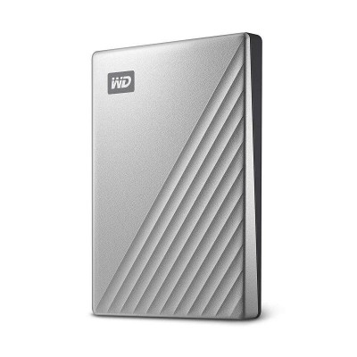 Save £40 at Ebuyer on WD My Passport Ultra Silver 4TB Portable Hard Drive for MAC