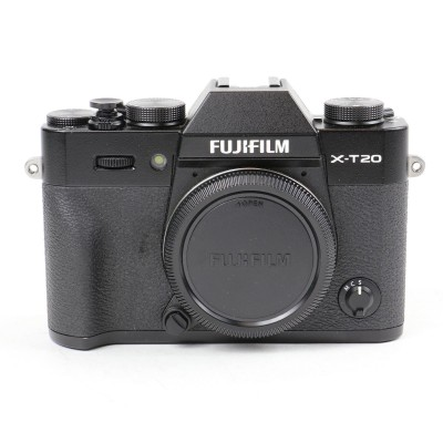 Save £41 at WEX Photo Video on Used Fujifilm X-T20 Digital Camera Body - Black