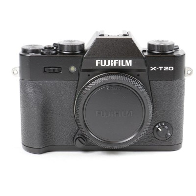 Save £50 at WEX Photo Video on Used Fujifilm X-T20 Digital Camera Body - Black