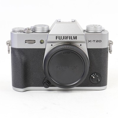 Save £40 at WEX Photo Video on Used Fujifilm X-T20 Digital Camera Body - Silver