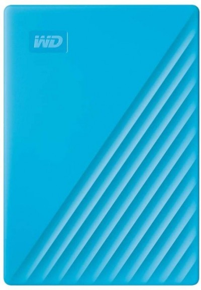 Save £35 at Ebuyer on WD 4TB My Passport Portable External Hard Drive, Blue