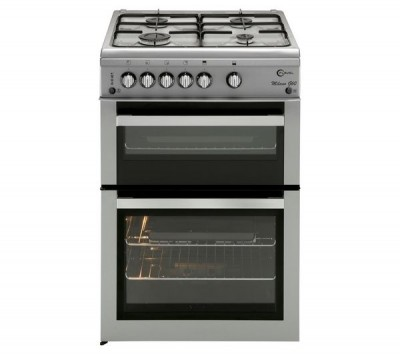 Save £61 at Currys on FLAVEL ML61NDSP Gas Cooker - Silver, Silver