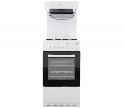 Save £41 at Currys on FLAVEL FHLG51W Gas Cooker - White, White