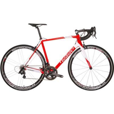 Save £350 at Wiggle on Wilier ZERO7 CHORUS SCIROCCO S RED WHT Road Bikes