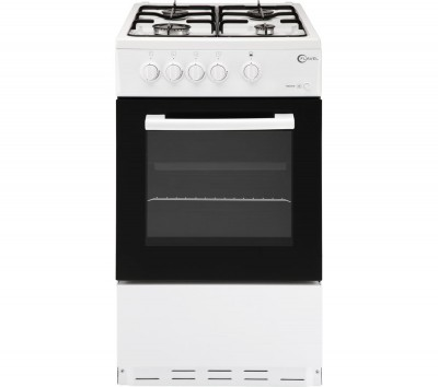 Save £30 at Currys on FLAVEL FSBG51W 50cm Gas Cooker - White, White