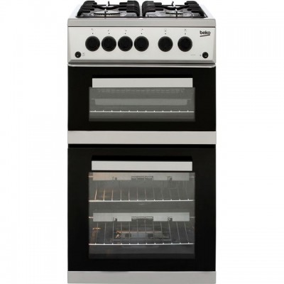 Save £30 at AO on Beko KDG582S 50cm Gas Cooker with Full Width Gas Grill - Silver - A+ Rated