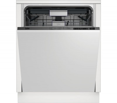Save £50 at Currys on BEKO DIN29X20 Full-size Integrated Dishwasher, Red