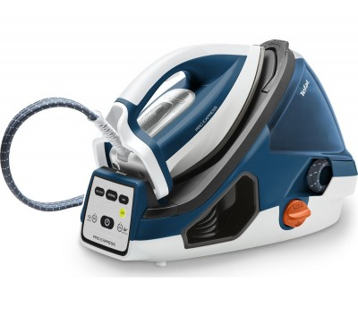 Save £109 at Currys on TEFAL Pro Express GV7850 Steam Generator Iron - Blue & White, Blue