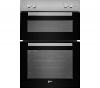 Save £30 at Currys on BEKO BXDF21000S Electric Double Oven - Silver, Silver