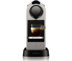 Save £10 at Currys on NESPRESSO by Krups CitiZ XN741B40 Coffee Machine - Silver