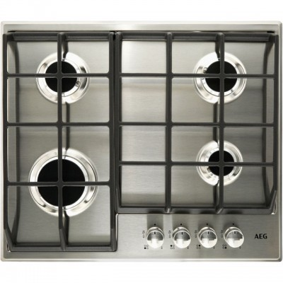 Save £50 at AO on AEG HG654351SM 60cm Gas Hob - Stainless Steel