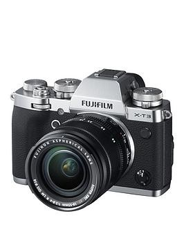 Save £250 at Very on Fujifilm Fujifilm X-T3 With Xf18-55Mm Lens (Silver)