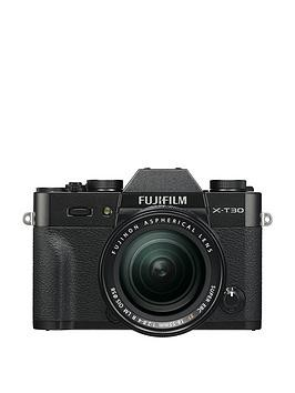 Save £200 at Very on Fujifilm Fujifilm X-T30 Camera Xf 18-55Mm Lens Kit 26.1Mp 3.0Lcd - Black - X-T30 Camera With 15-45Mm Lens Kit And Bag