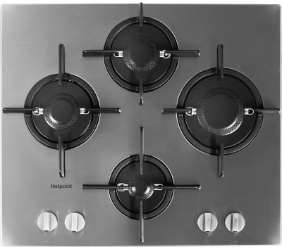 Save £51 at Currys on HOTPOINT FTGHL 641 D/IX/H Gas Hob - Stainless Steel, Stainless Steel