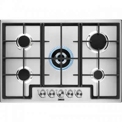 Save £50 at AO on Zanussi ZGH76524XX 74cm Gas Hob - Stainless Steel