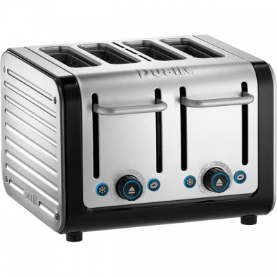Save £14 at AO on Dualit Architect 46505 4 Slice Toaster - Black / Brushed Steel