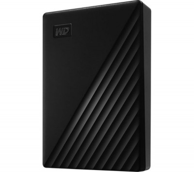 Save £15 at Currys on My Passport Portable Hard Drive - 5 TB, Black, Black