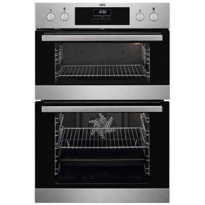 Save £80 at Appliance City on AEG DCB331010M Built In Multifunction Double Oven - STAINLESS STEEL