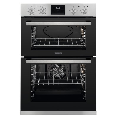 Save £50 at Appliance City on Zanussi ZOD35660XK Built In Multifunction Double Oven - STAINLESS STEEL