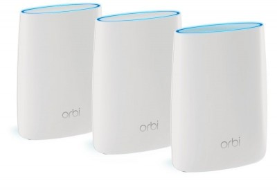 Save £88 at Ebuyer on Netgear RBK53 Orbi Whole Home Mesh Wi-Fi System (3 Pack)