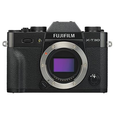 Save £140 at WEX Photo Video on Used Fujifilm X-T30 Digital Camera Body - Black
