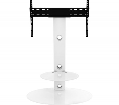 Save £50 at Currys on AVF Lugano FSL800LUSWW 800 mm TV Stand with Bracket - White, White