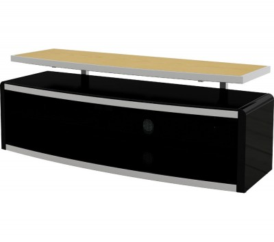 Save £100 at Currys on AVF Stage 1250 mm TV Stand - Black, Black