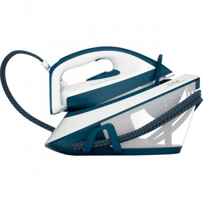 Save £90 at AO on Tefal Express Compact SV7110G0 Steam Generator Iron - Blue / White