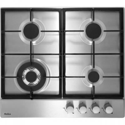 Save £20 at AO on Amica PGZ6412 59cm Gas Hob - Stainless Steel