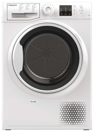 Save £80 at Argos on Hotpoint NTM1081WK 8KG Heat Pump Tumble Dryer - White