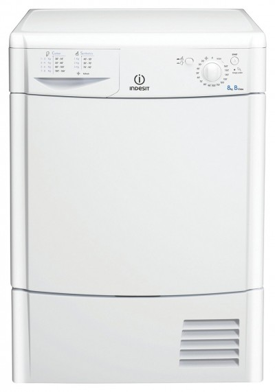 Save £50 at Argos on Indesit IDC8T3B 8KG Condenser Tumble Dryer - White