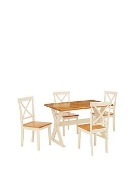 Save £60 at Very on New Axxon 120 Cm Dining Table + 4 Chairs