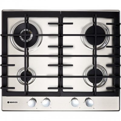 Save £30 at AO on Hoover H-HOB 300 GAS HHG6BR4MX 60cm Gas Hob - Stainless Steel