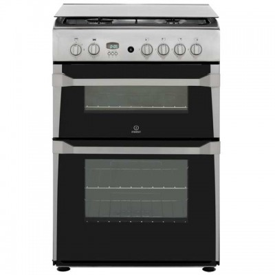 Save £59 at AO on Indesit Advance ID60G2X Gas Cooker - Stainless Steel - A+/A Rated