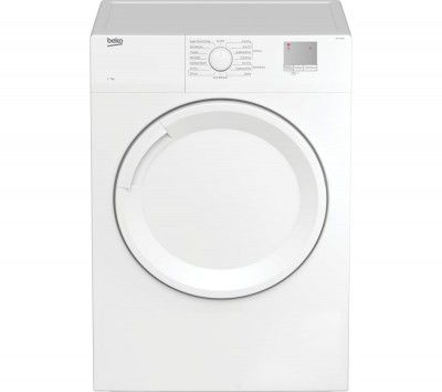 Save £20 at Currys on DTGV7000W 7 kg Vented Tumble Dryer - White, White