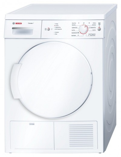 Save £75 at Argos on Bosch WTE84106GB Condenser Tumble Dryer - White