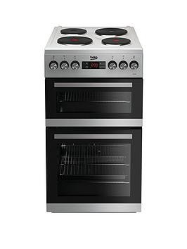 Save £30 at Very on Beko Kdv555Aw 50Cm Double Oven Electric Cooker - White