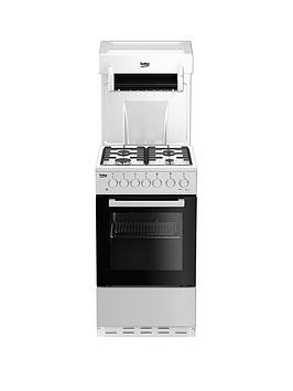 Save £50 at Very on Beko Ka52New 50Cm Single Oven With High Level Grill Gas Cooker - White
