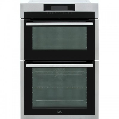 Save £130 at AO on AEG DCE731110M Built In Double Oven - Stainless Steel - A/A Rated