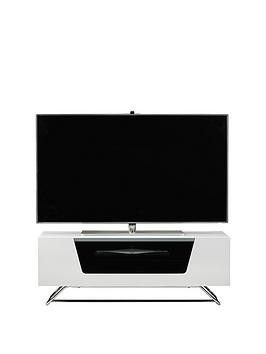 Save £20 at Very on Alphason Chromium Tv Stand - Fits Up To 46 Inch Tv - White