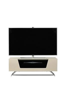Save £20 at Very on Alphason Chromium Tv Stand - Fits Up To 50 Inch Tv - Ivory