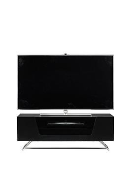 Save £20 at Very on Alphason Chromium Tv Stand - Fits Up To 50 Inch Tv - Black