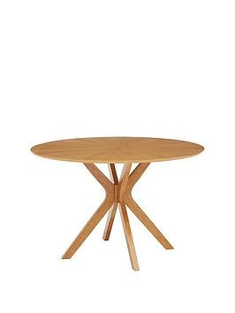 Save £70 at Very on New Starburst 120 Cm Round Dining Table