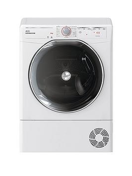Save £100 at Very on Hoover Axi Atd C10Tkex, 10Kg Load, Heat Pump Tumble Dryer - White / Tinted Door