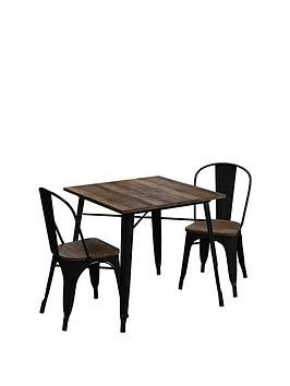 Save £30 at Very on Fusion 80 Cm Square Dining Table + 2 Chairs