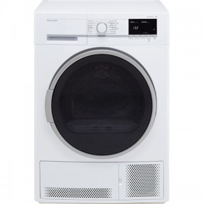 Save £30 at AO on Sharp KD-GCB8S7GW9-EN 8Kg Condenser Tumble Dryer - White - B Rated