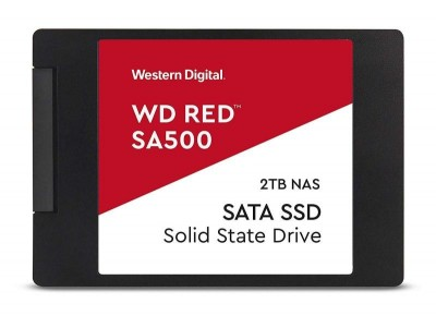 Save £66 at Ebuyer on WD RED 2TB SA500 NAS SATA 2.5 SSD