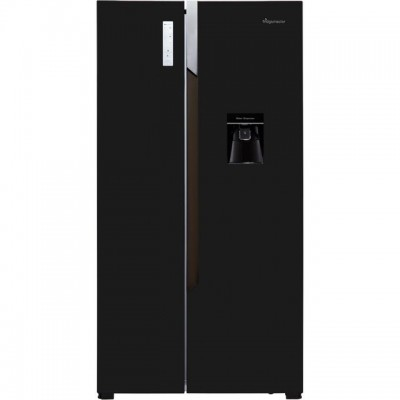 Save £50 at AO on Fridgemaster MS91515BFF American Fridge Freezer - Black - A+ Rated