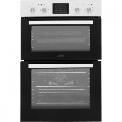 Save £49 at AO on Zanussi ZOD35661WK Built In Double Oven - White - A/A Rated
